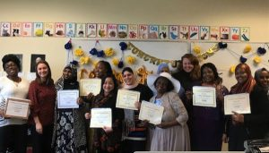 Graduates of Childcare teaching assistance course earn a STARS certificate and start careers in early childhood education.