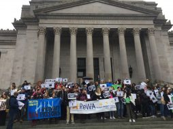 ReWA joined Washington Immigrant Solidarity network in Olympia